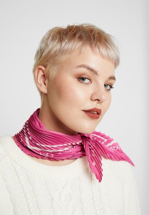 FOULARD PLISSE - Halsdoek - hot pink