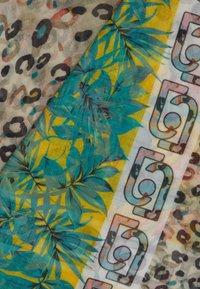 LIU JO - FOULARD ANIMALIER FLOW NILE - Halsdoek - light blue - 2