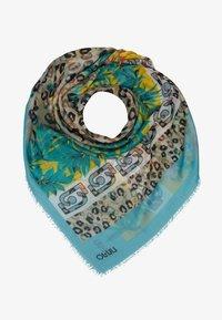 LIU JO - FOULARD ANIMALIER FLOW NILE - Halsdoek - light blue - 1