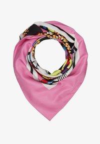 LIU JO - FOULARD FACES - Tørklæde / Halstørklæder - pink - 1
