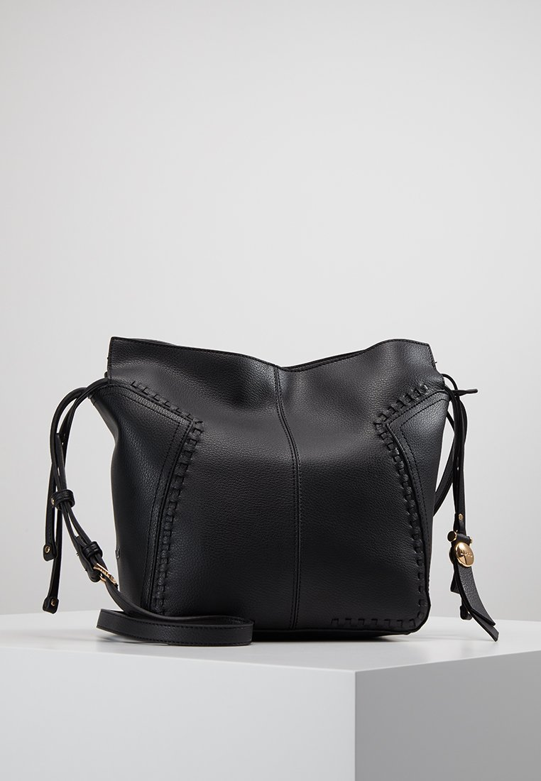 LIU JO - DRAWSTRING - Across body bag - nero