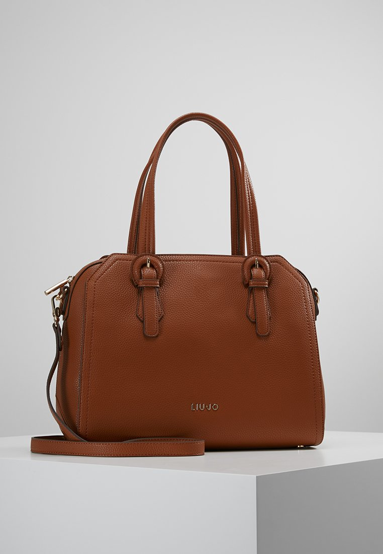LIU JO - SATCHEL ZIP - Handbag - bran