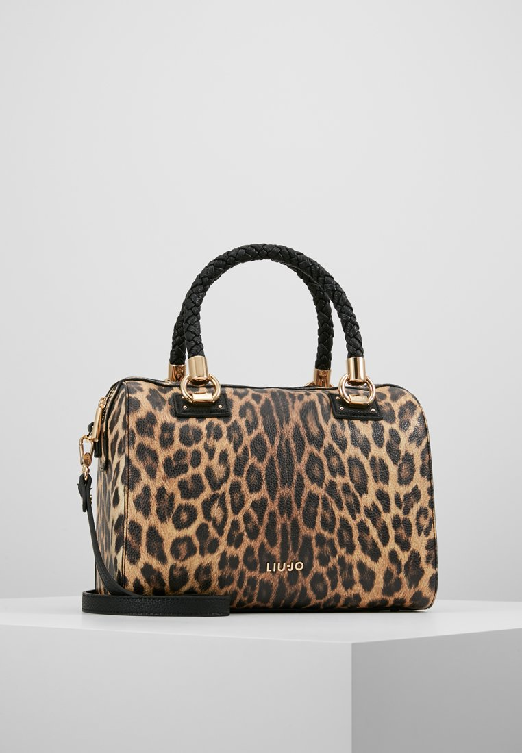 LIU JO - SATCHEL LEOPARDO - Sac à main - Marrone