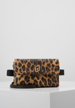 BELT BAG LEOPARDO - Ledvinka - marrone