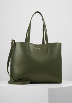 SATCHEL VERT MILIT CAMOU SET - Shoppingveske - khaki green