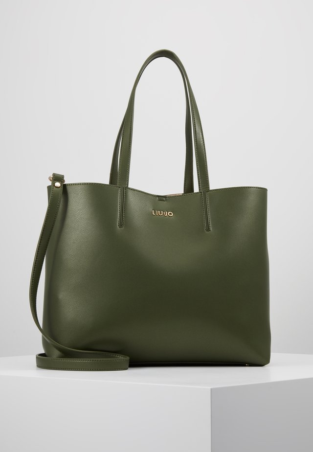 SATCHEL VERT MILIT CAMOU SET - Shopping Bag - khaki green