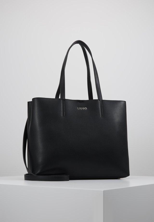 SATCHEL VERT MILIT CAMOU SET - Shopper - black