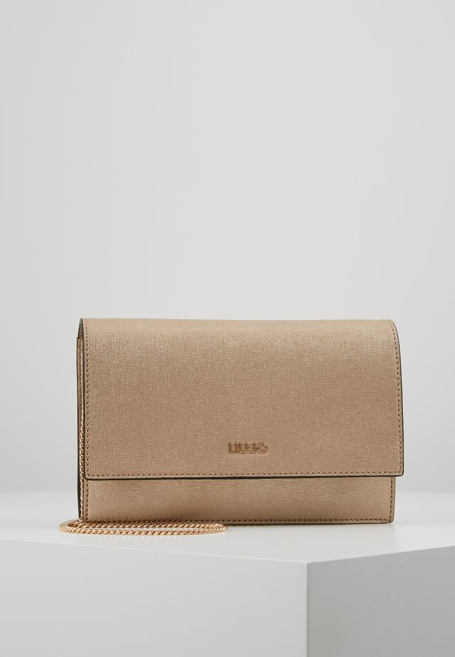 CROSSBODY - Torba na ramię - gold