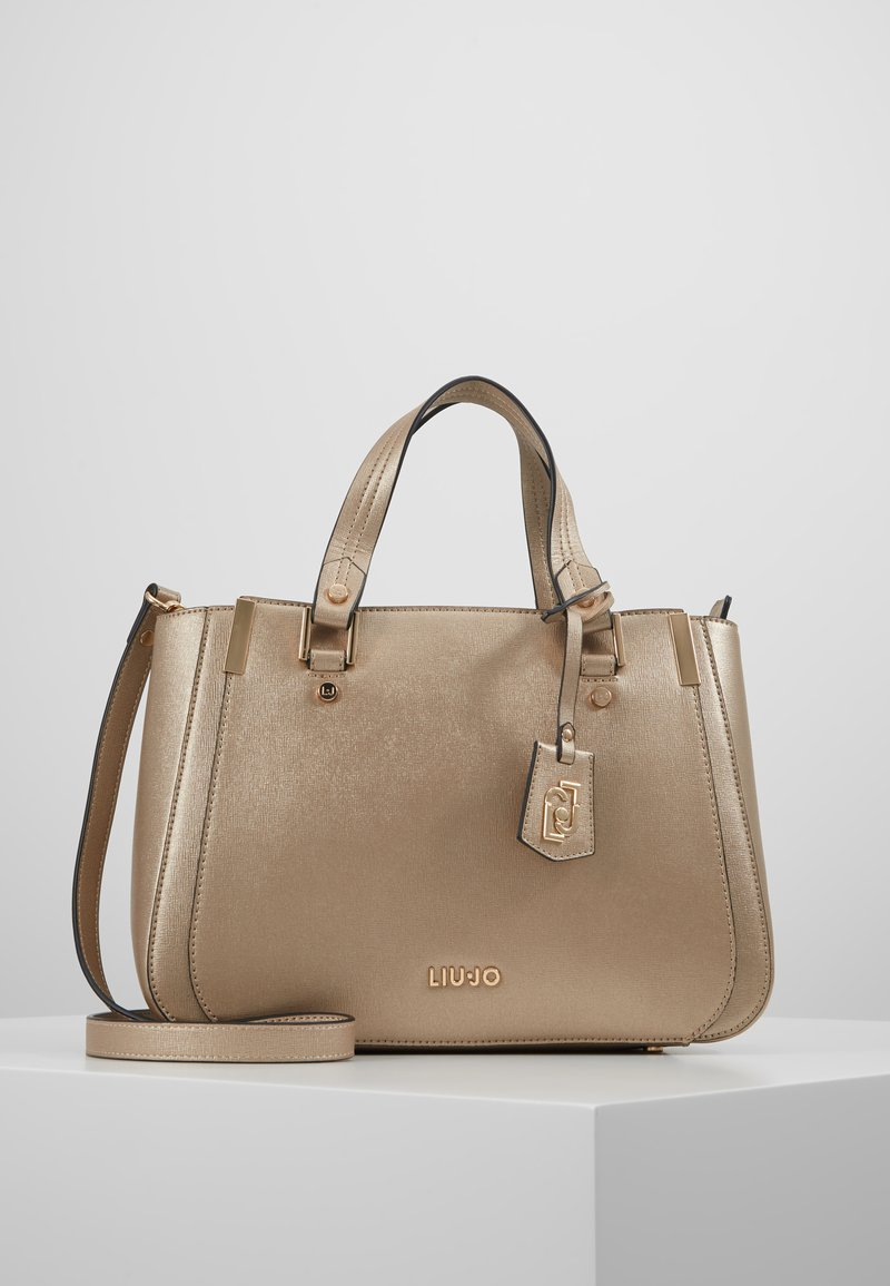 LIU JO - SATCHEL - Sac à main - gold