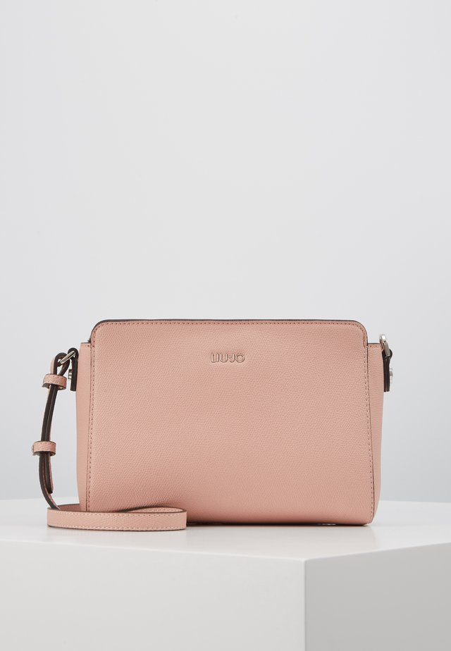SCROSSBODY ROSE - Across body bag - light pink