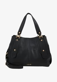 LIU JO - SATCHEL COFFEE MILK - Håndtasker - black - 5
