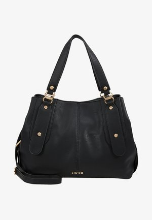 SATCHEL COFFEE MILK - Handbag - black