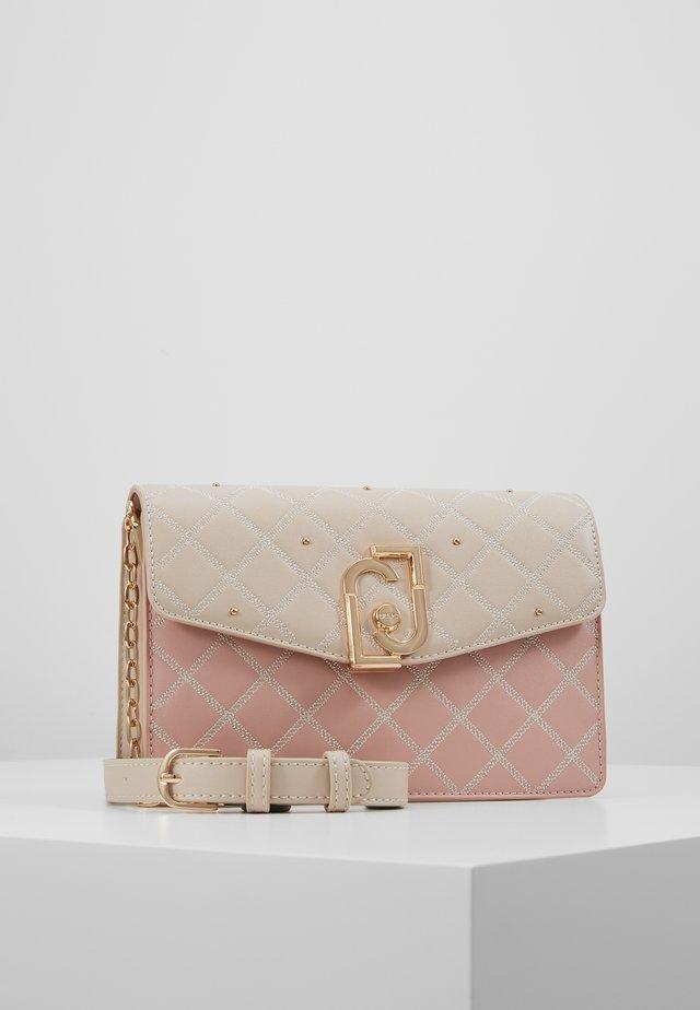 CROSSBODY - Schoudertas - light pink/beige