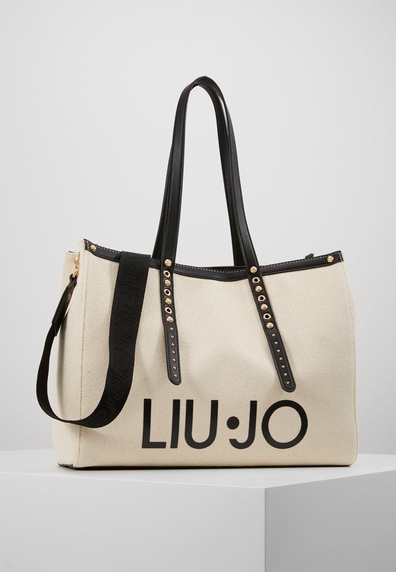 LIU JO - L TOTE BIANCO LANA - Shoppingväska - ivory