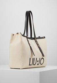 LIU JO - L TOTE BIANCO LANA - Shoppingväska - ivory - 4