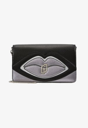 POCHETTE SFUMATURE DI GRIGIO - Across body bag - grey
