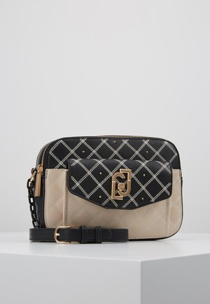 CROSSBODY - Sac bandoulière - black/beige