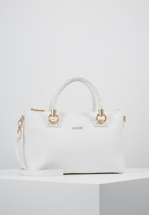 SATCHEL - Across body bag - white