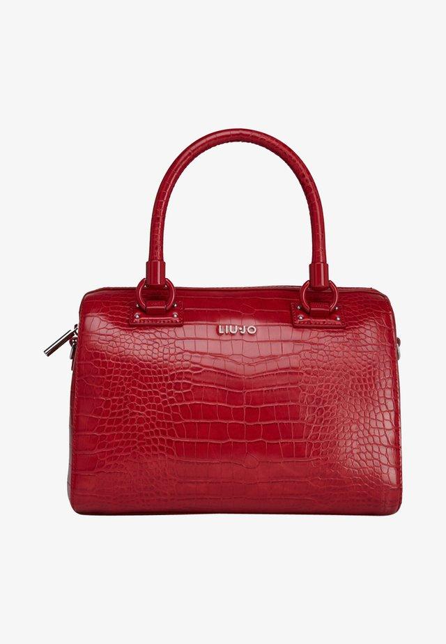 BOSTON - Handbag - cherry red