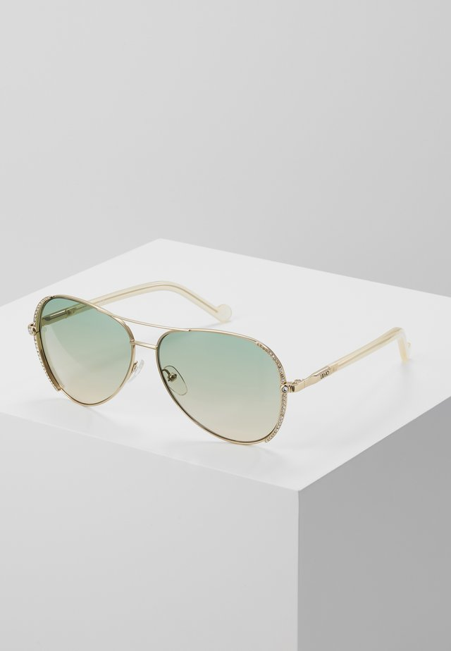 Sonnenbrille - sand/gold-coloured
