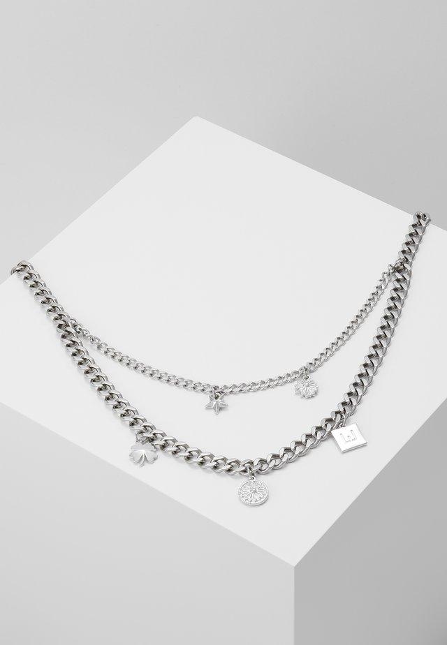 NECKLACE - Kaulakoru - silver-coloured