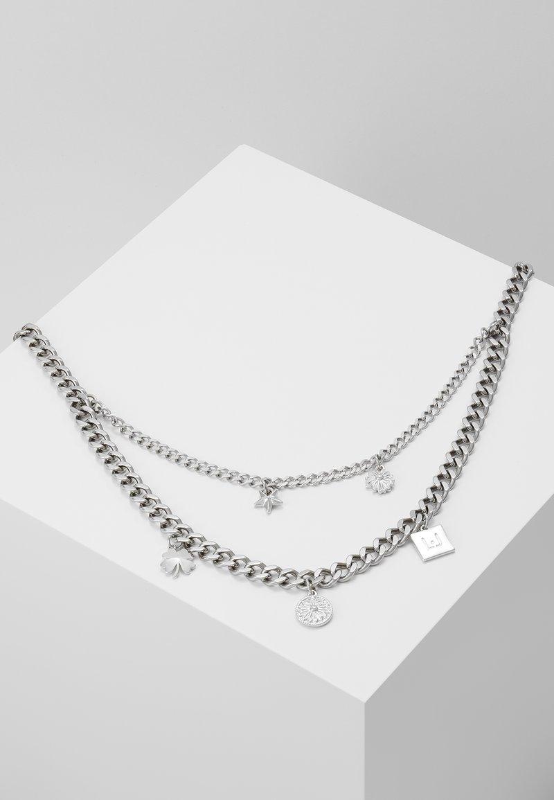LIU JO - NECKLACE - Ketting - silver-coloured