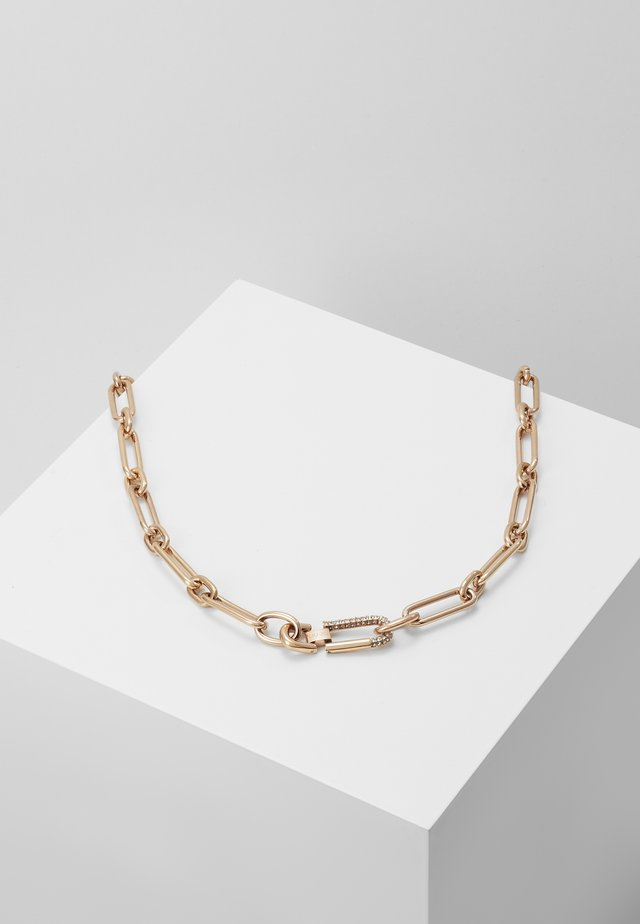 NECKLACE - Naszyjnik - rose gold-coloured