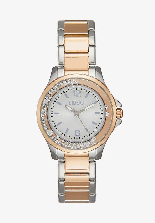 MINI DANCING - Horloge - silver-coloured/rose gold-coloured