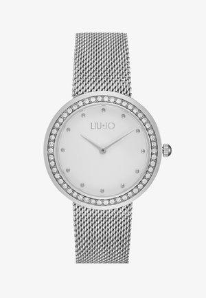 LUXURY ROUND - Horloge - silver-coloured