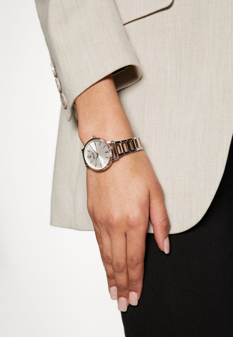 LIU JO - Montre - silver-coloured/rose gold- coloured