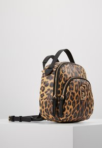 LIU JO - BACKPACK LEOPARDO - Sac à dos - marrone - 3