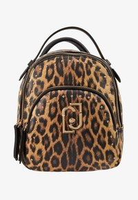 LIU JO - BACKPACK LEOPARDO - Sac à dos - marrone - 6
