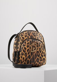 LIU JO - BACKPACK LEOPARDO - Sac à dos - marrone - 5