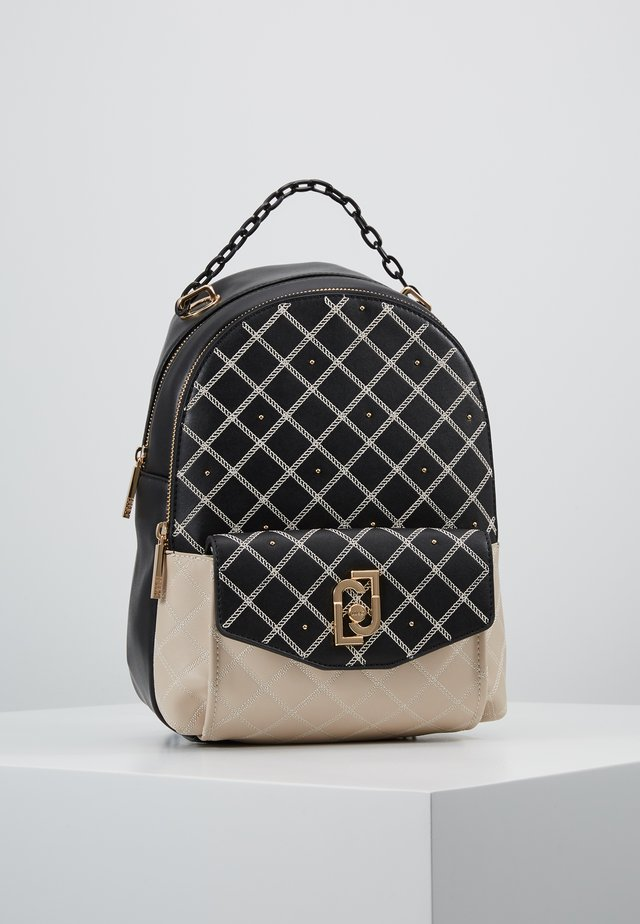 BACKPACK - Mochila - black/beige