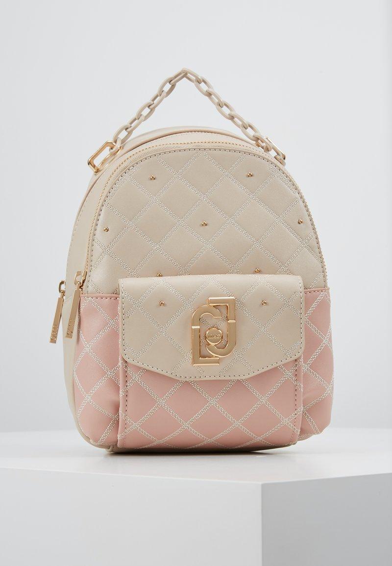 LIU JO - BACKPACK CAMEO - Mochila - beige/light pink