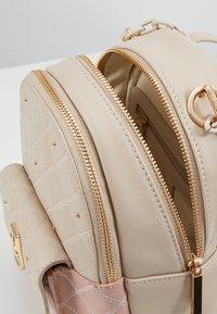 LIU JO - BACKPACK CAMEO - Mochila - beige/light pink - 4