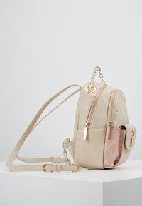 LIU JO - BACKPACK CAMEO - Mochila - beige/light pink - 3