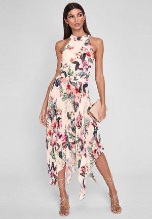 HALTER  - Cocktail dress / Party dress - white