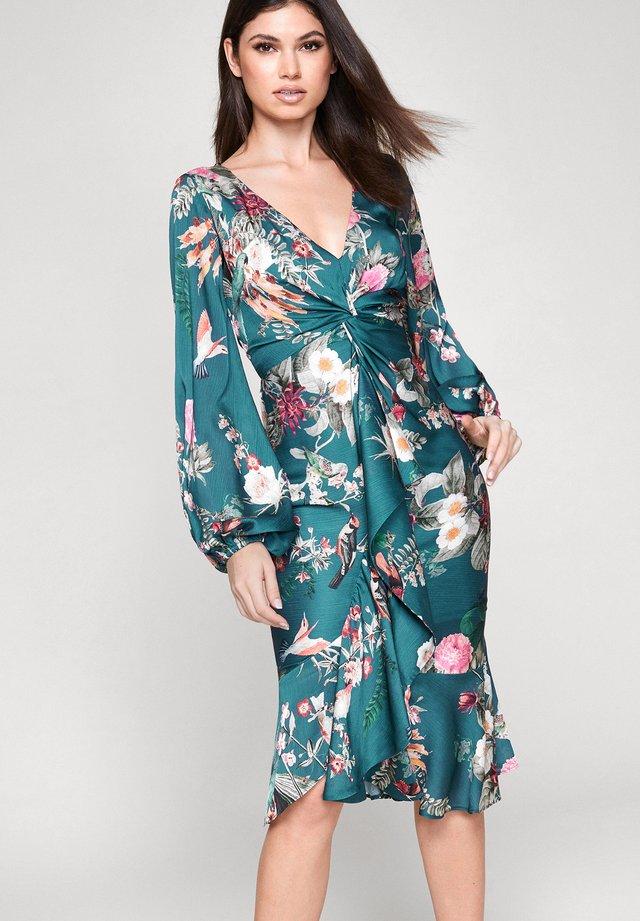 TWIST  - Korte jurk - green