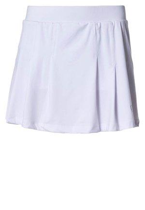 SKORT FANCY - Sportovní sukně - white