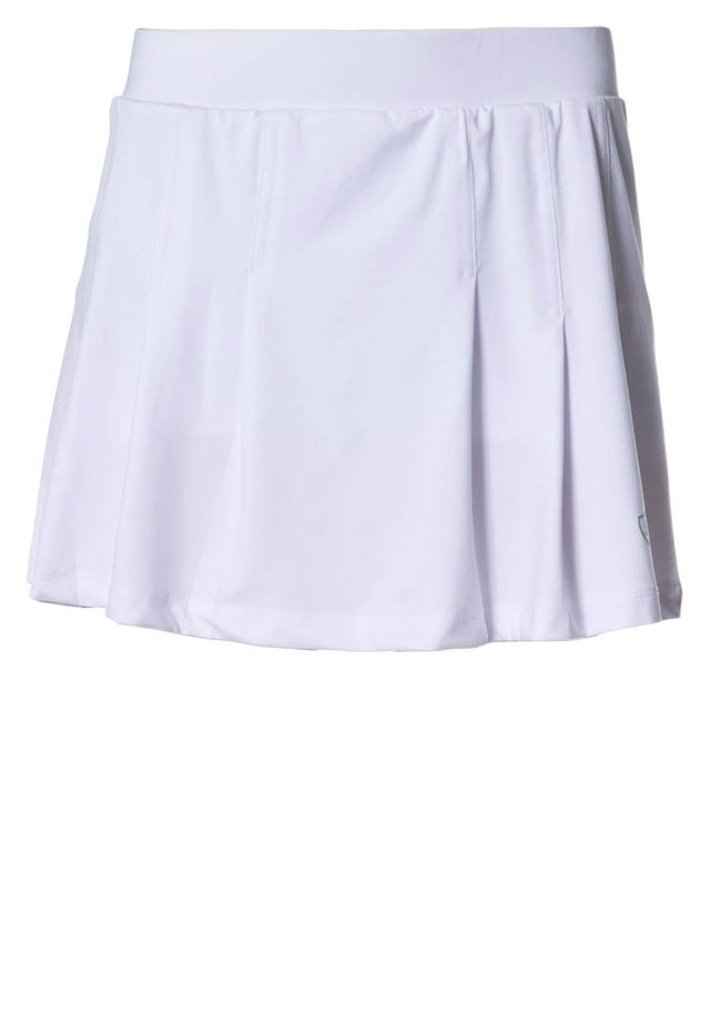 SKORT FANCY - Sportsnederdel - white