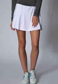 Limited Sports - SKORT FANCY - Sportovní sukně - white - 1