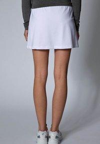 Limited Sports - SKORT FANCY - Sportovní sukně - white - 4