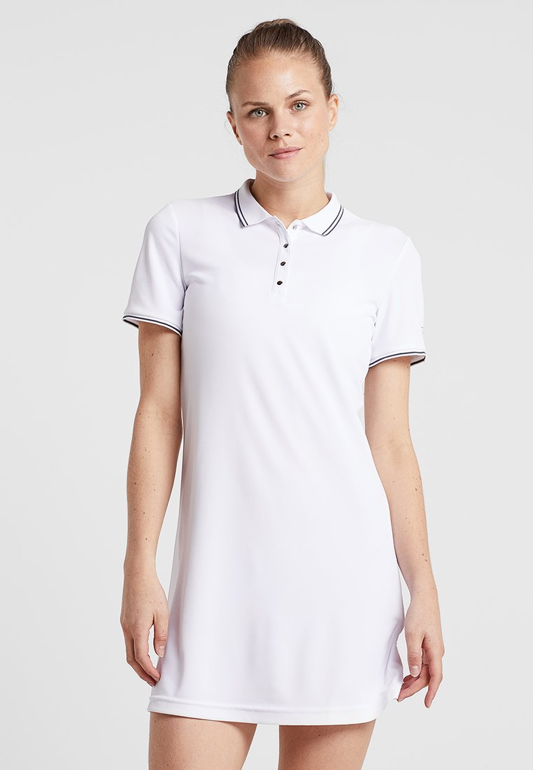 Limited Sports - POLODRESS PAULA - Day dress - white