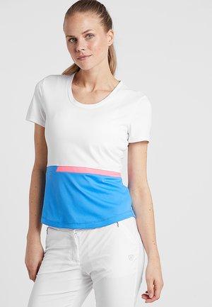 SOHO - Print T-shirt - ortenisa blue/white/popstar
