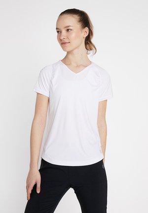 SOLEY - T-shirt z nadrukiem - white