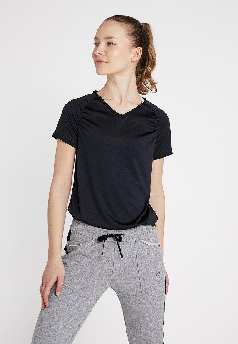 Limited Sports - SOLEY - Triko spotiskem - black