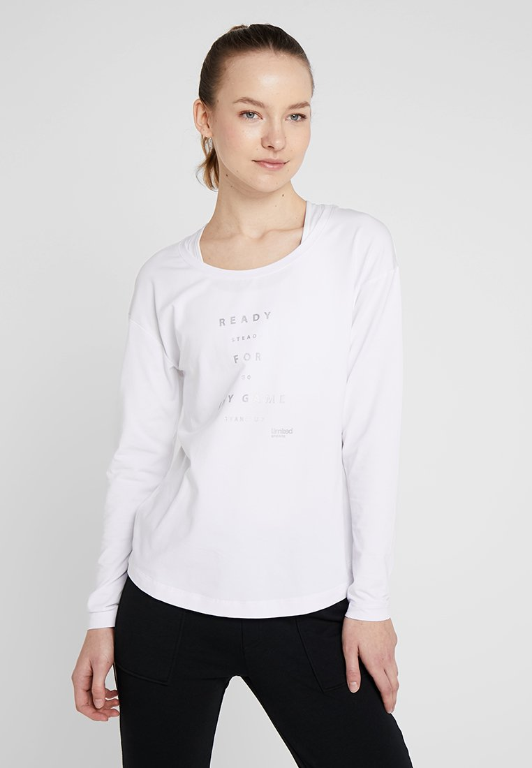 Limited Sports - LONGSLEEVE LAURA - Langærmede T-shirts - white