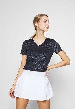 EMBI - T-shirt z nadrukiem - eclipse blue