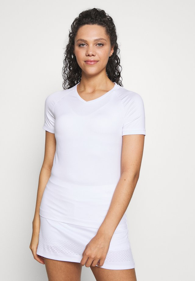 SOLEY - Basic T-shirt - white